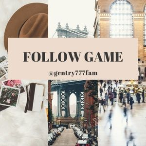 """Other - """"Follow Game"""" Come & Play..."""
